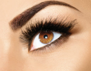 image of eyebrow tinting in MA
