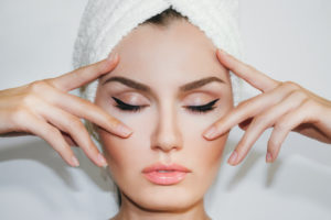 image of facial at andrea's skin care